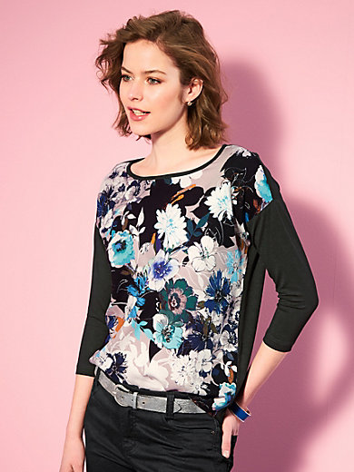 Looxent - Shirt mit trendigem Blüten-Print