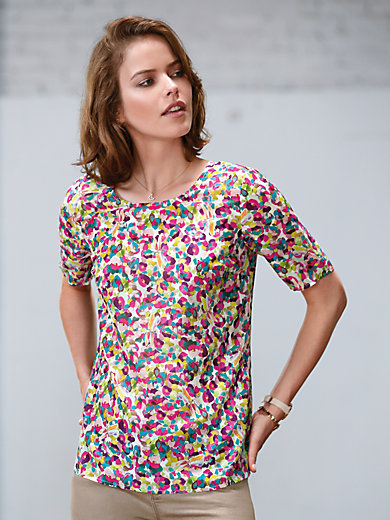 Looxent - Shirtblouse met korte mouwen