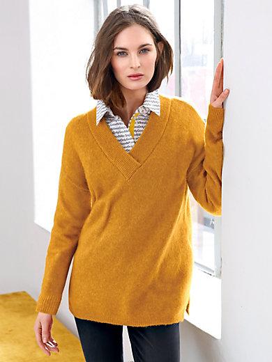 Looxent - V-bluse i oversized stil