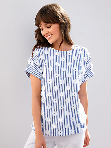 Louis and Mia - Shirt-blouse with overcut shoulders