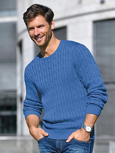 Louis Sayn - Round neck pullover in 100% Pima cotton