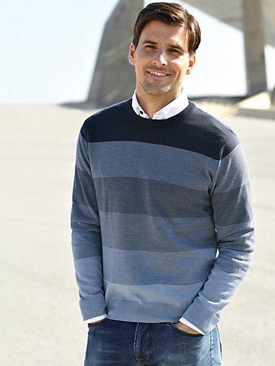 Louis Sayn - Rundhals-Pullover aus 100% Schurwolle von FILIVIVI