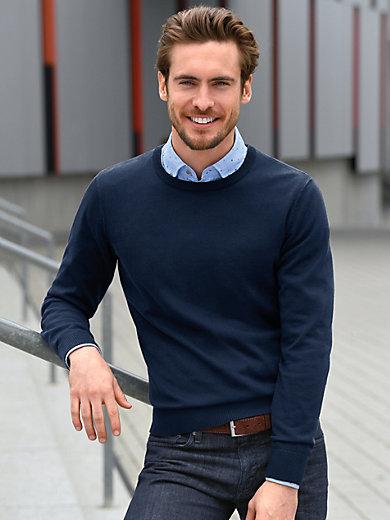 Louis Sayn - Rundhals-Pullover aus 100% SUPIMA®-Baumwolle