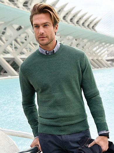 Louis Sayn - Rundhals-Pullover mit Struktur