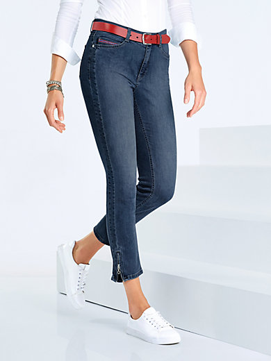 Mac - 7/8-Jeans Angela Zip