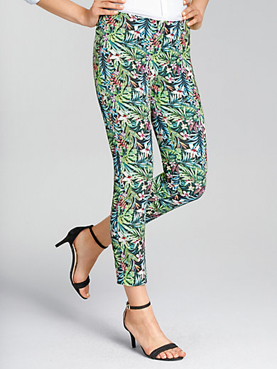 Mac - 7/8-length slip-on trousers - design ANNA SUMMER