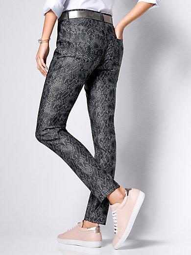mac jeans dream skinny inch l nge 30 dunkelgrau denim. Black Bedroom Furniture Sets. Home Design Ideas