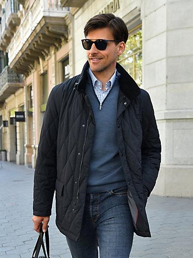 MAERZ - Stehbund-Pullover aus 100% Schurwolle-Merino