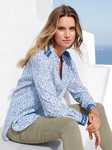 99fde2e0d4b5 Marc Aurel - Blouse in tunic style - white/light blue