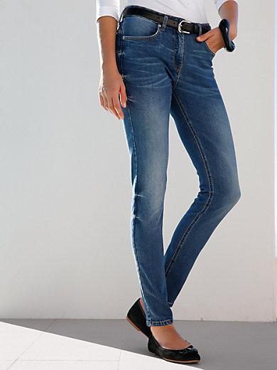 Marc Aurel - Le jean 7/8 aspect délavé, coupe slim 5 poches