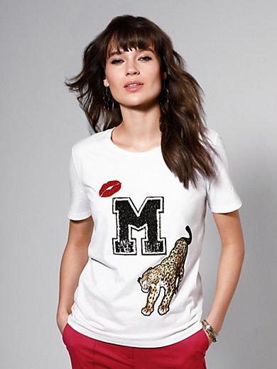 Marc Aurel - Shirt met ronde hals