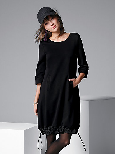 Margittes - Jersey dress with 3/4-length sleeves