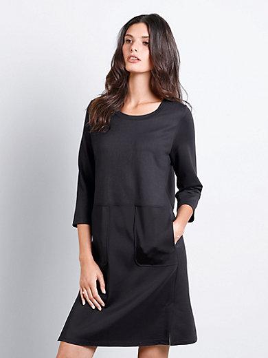 Margittes - La robe en sweat, manches 3/4, taille haute