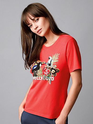 Margittes - Le T-shirt à imprimé, manches courtes