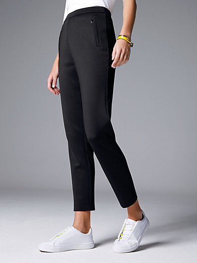 Margittes - Slip-on elasticated waist trousers