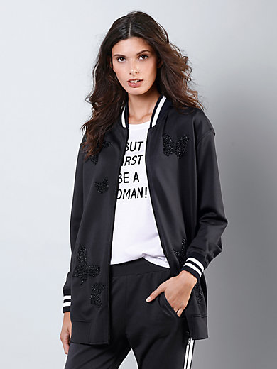 Margittes - Sweat-Longjacke