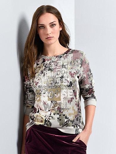 Margittes - Sweat-Pullover mit Rundhals-Ausschnitt