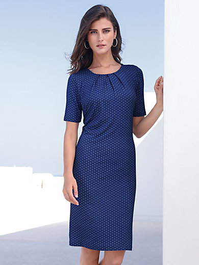 mayfair by Peter Hahn - Jersey dress with short sleeves