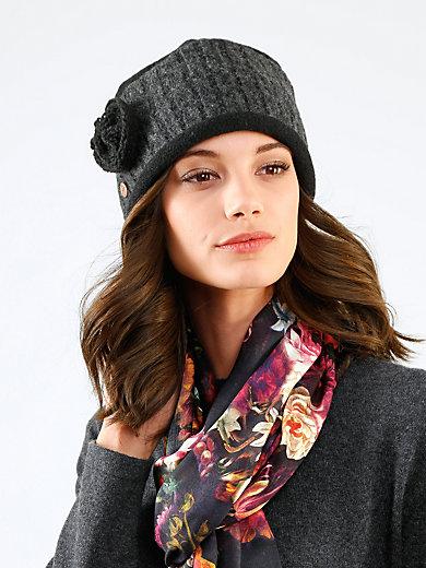 Mayser - Mütze aus gewalkter Schurwolle