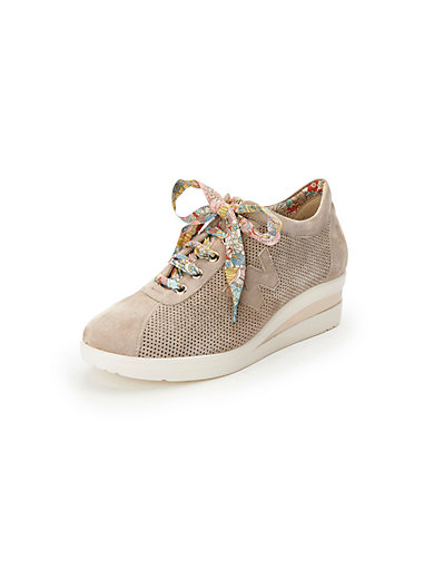 Sneakers wedge heel Melluso Walk beige Melluso Cheap Footlocker Sale Fast Delivery Cheap Deals Best Place Sale Online Clearance NAYFNd5