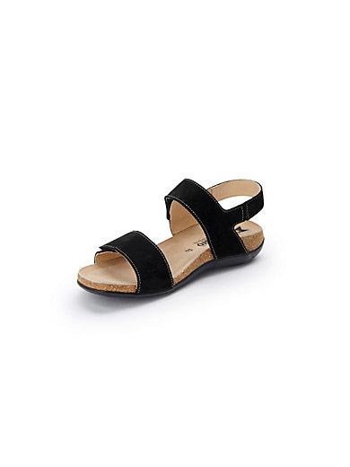 Les sandales en cuir nappa, modèle LEA Mephisto blanc