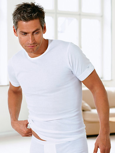 Mey - T-Shirt mit Rundhals-Ausschnitt