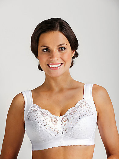 2c72f91e35 Miss Mary of Sweden - Wireless bra - white