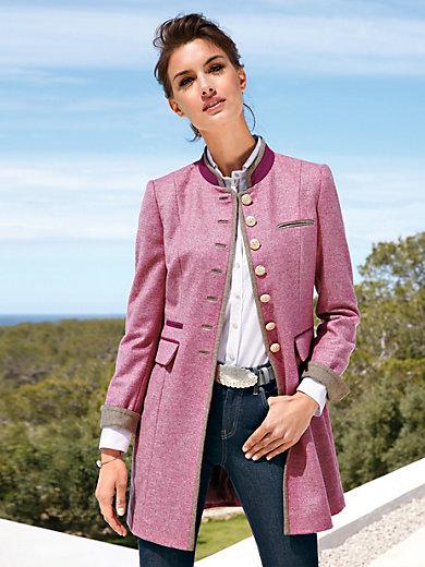 Münchner Manufaktur - Lange blazer in elegante Tiroler look