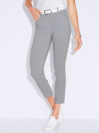 MYBC - 7/8-length pull-on trousers Sylvia fit