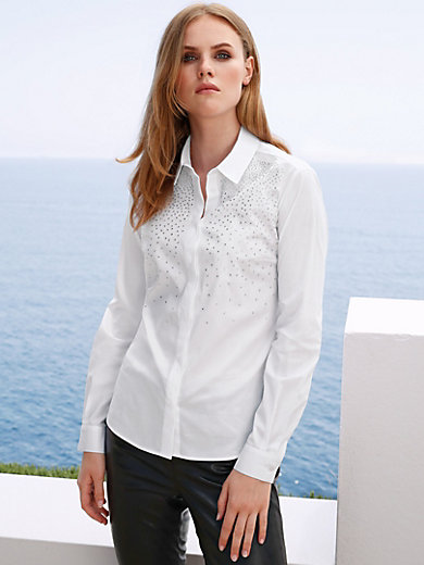 MYBC - Bluse mit Hemdkragen