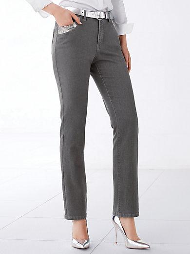 MYBC - Jeans mit modischem Pailletten-Dekor