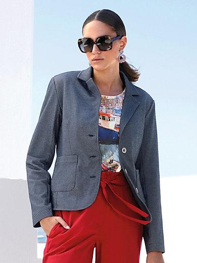 MYBC - Jersey-Blazer mit Reverskragen