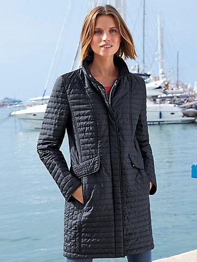 MYBC - Lange doorgestikte jas