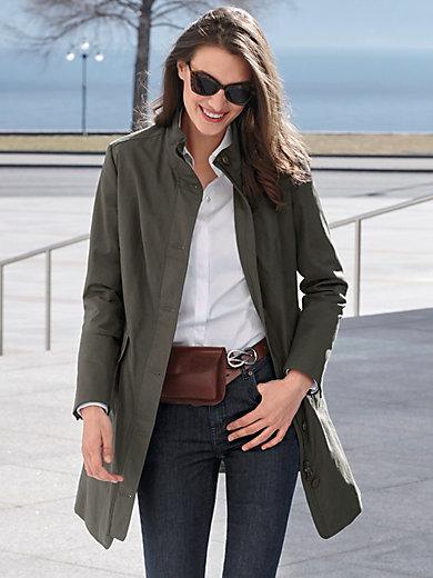 MYBC - Puolipitkä takki, jossa pystykaulus