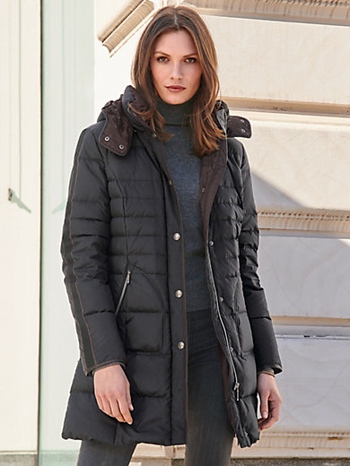 MYBC - Quilted coat with detachable hood