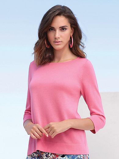 MYBC - Round neck jumper in 100% SUPIMA® cotton