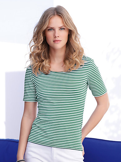 MYBC - Round neck top with short sleeves