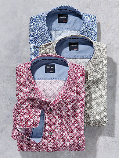 Olymp - La chemise Olymp en pur coton