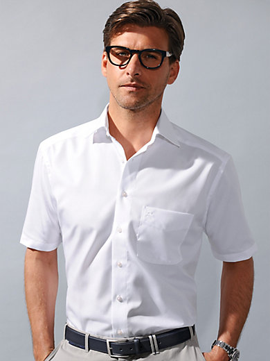 Olymp Luxor - Bügelfreies Hemd mit 1/2 Arm