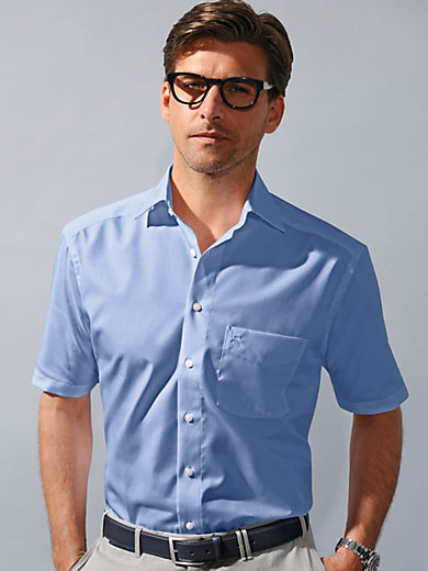 Olymp Luxor - Non-iron chambray shirt