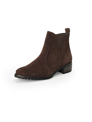 Ankle boots in 100% leather