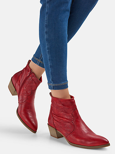 7e738f6b0f39 Paul Green - Ankle boots - red