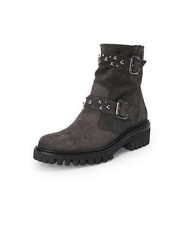 100% authentic 734a3 866b6 Biker style boots in 100% leather