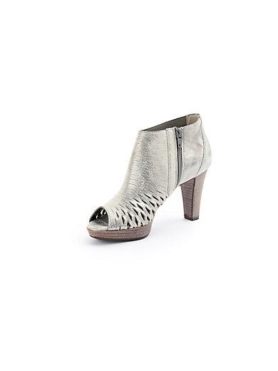 Paul Green - Knöchelhohe Sandale aus Ziegenveloursleder