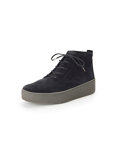 c267d39fdf77d Paul Green - Lace-up ankle boots in 100% leather - navy