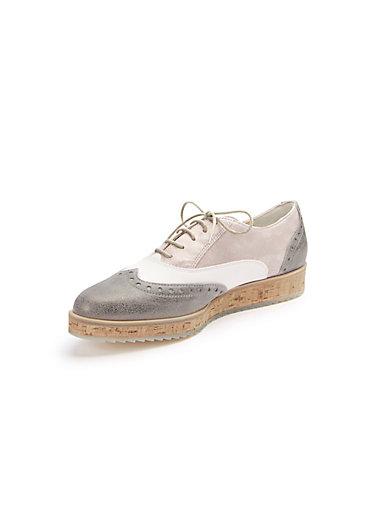 Paul Green - Schnür-Schuh im Material-Mix