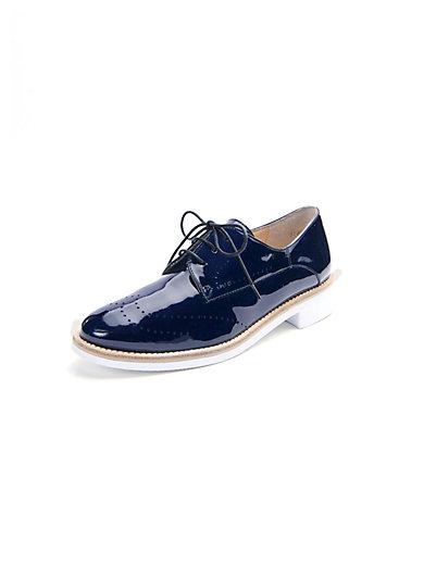 Paul Green - Schnür-Schuh mit Lochmuster