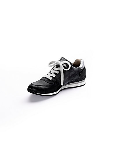 Paul Green - Sneaker aus Kalbsnubukleder