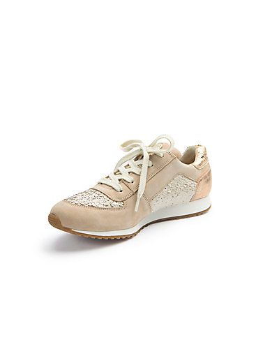Paul Green - Sneaker mit Pailletten und Glitzer-Optik