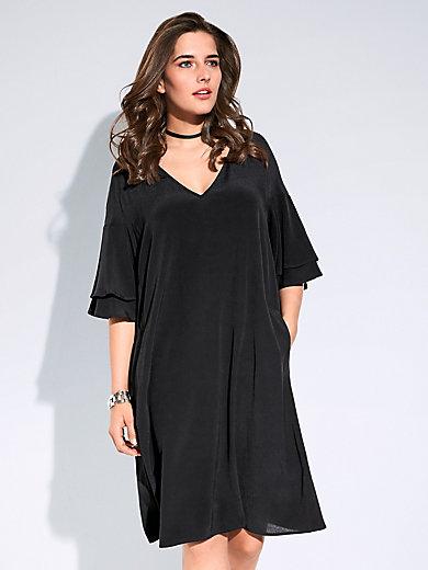 Persona by Marina Rinaldi - Dress with 3 4-length sleeves - black e3b558bfa3